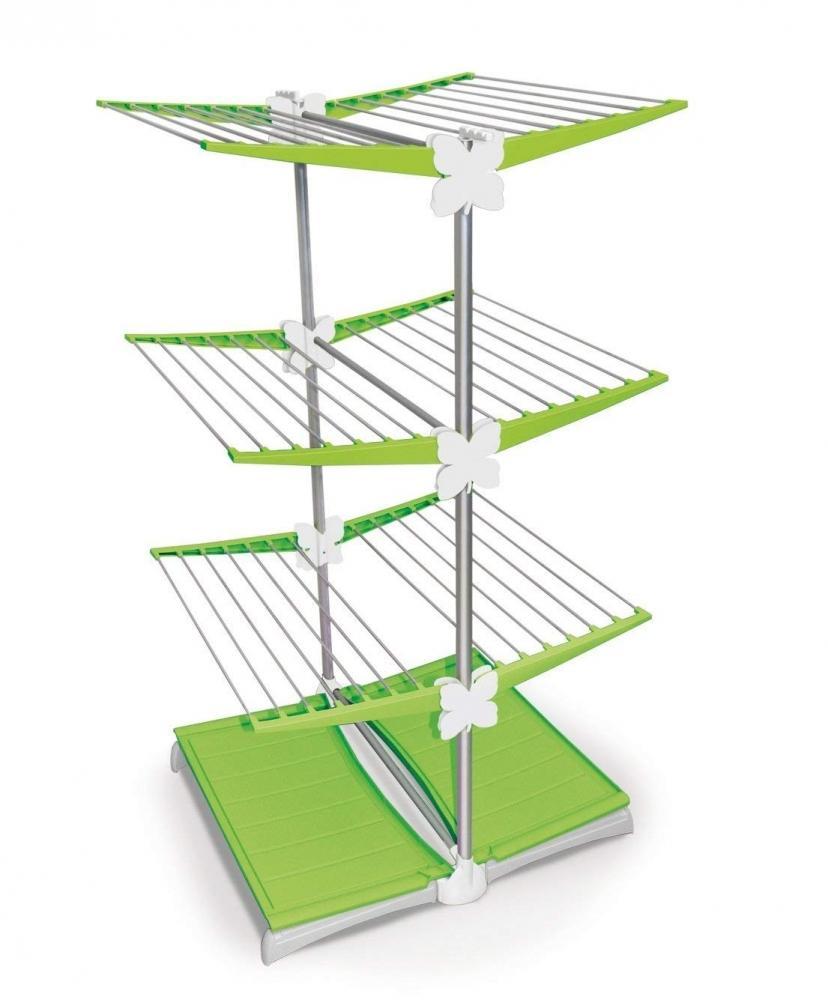 Stendino verticale con vaschetta raccogligocce, da Meliconi