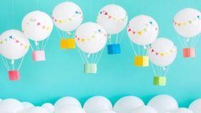 Come addobbare casa per le feste dei bambini con idee fai da te