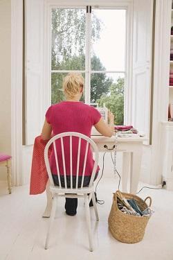 Piccola scrivania in ambiente