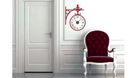 Decorare la casa con gli orologi wall stickers