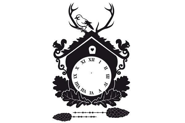 Orologio Cucù di Wall Art