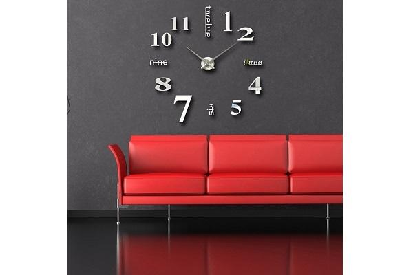 Orologio wall sticker Modern Wall da Amazon