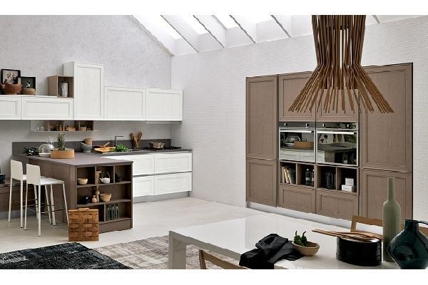 Cucina quadrata Maxim di Stosa