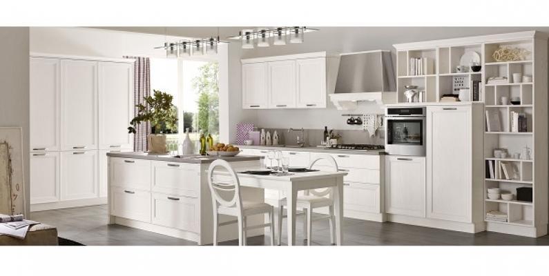 Cucina Maxim bianca di Stosa