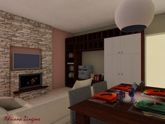 Audiovision tv specchio casa domotica