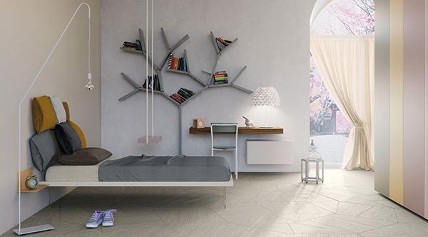 Cameretta bimbo Young libreria Lago design