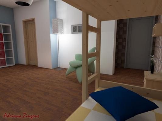 Come progettare la cameretta per due bambini for Progettare la camera