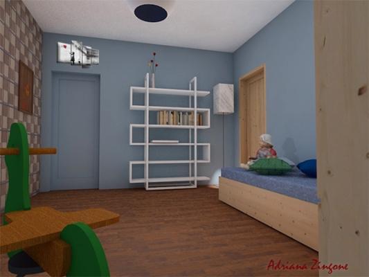 Come creare due camerette in una stanza for Progettare la cameretta