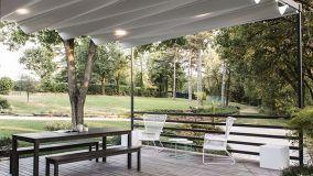 Outdoor e ambienti interni possono diventare uno spazio unico