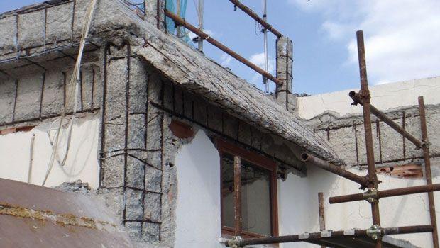 Ripristinare il frontalino del balcone migliorando l'estetica