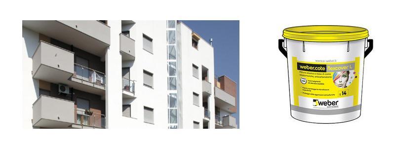 Frontalini balconi: ripararli con Weber.cote flexcover R