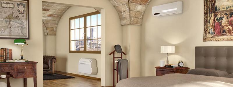 Condizionatore pompa di calore su CaldaieMurali.it