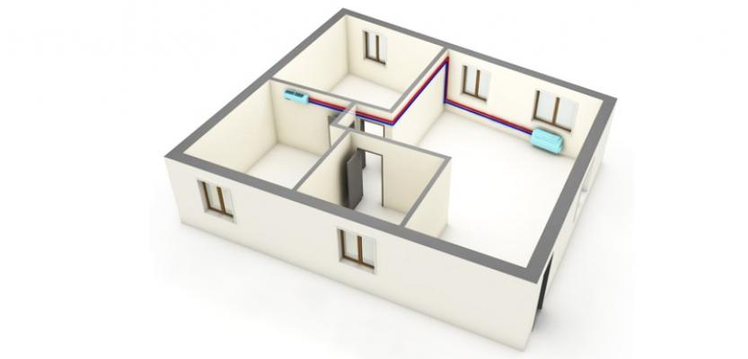 Montaggio condizionatore senza unità esterna