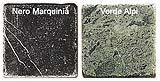 Marmi anticati verdi e neri di Mosaix