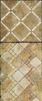 Pavimenti in opus sectile con ispirazione antica di Linea Rustica Marmi