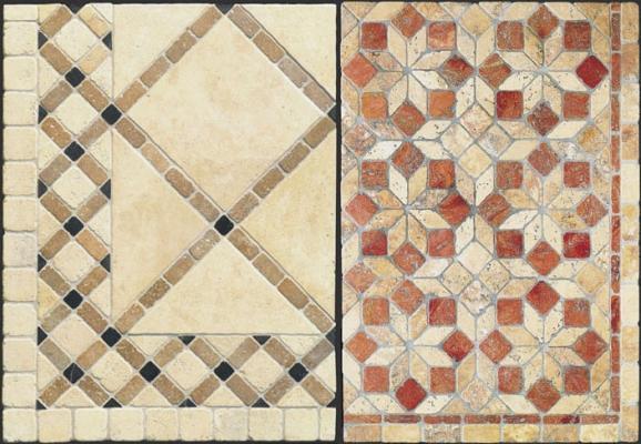 Pavimenti in opus sectile by Linea Rustica Marmi