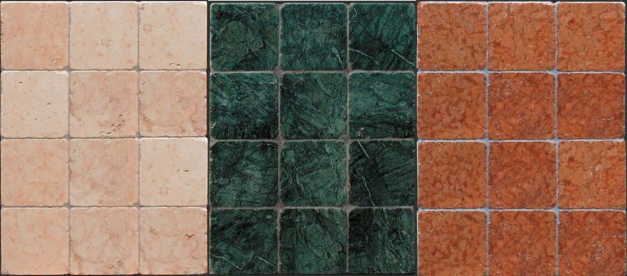 Pavimenti in marmo anticato in tinta unita di Mosaix