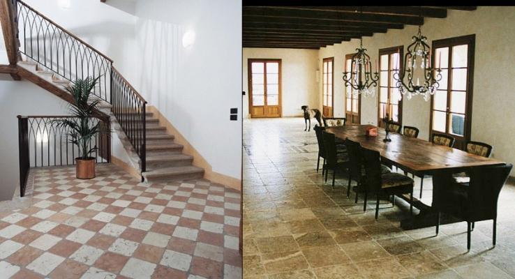 Mosaix pavimenti marmo anticato