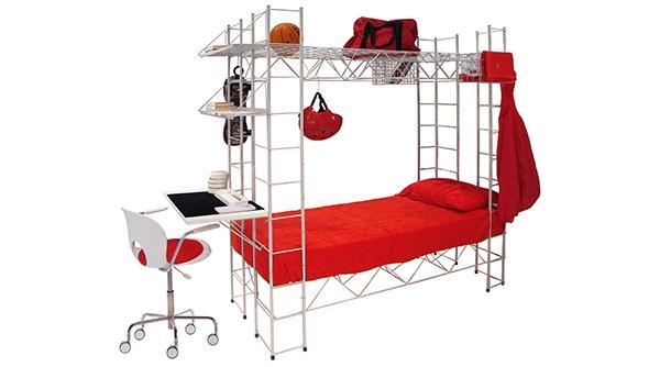Struttura per cameretta con letto integrato Abitacolo by Lovethesign