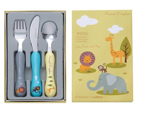 Bon Animal Kingdom, il servizio di posate per bambini di Bon Cutlery