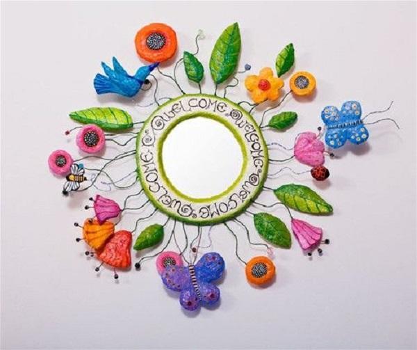 Fiori di cartapesta per dare vita a originali oggetti decorativi, da liatart