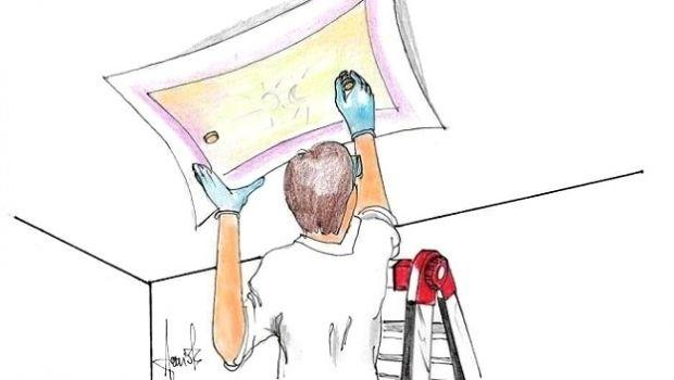 Come installare una plafoniera a soffitto in fai da te
