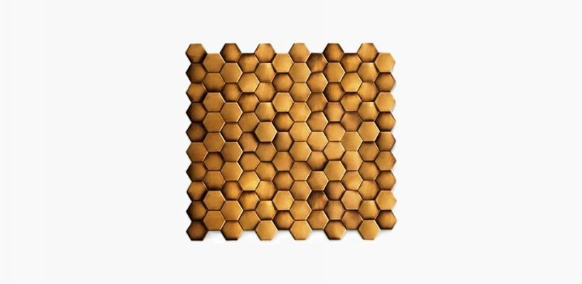 Formella rivestimento metallico esagonale De Castelli Copycat