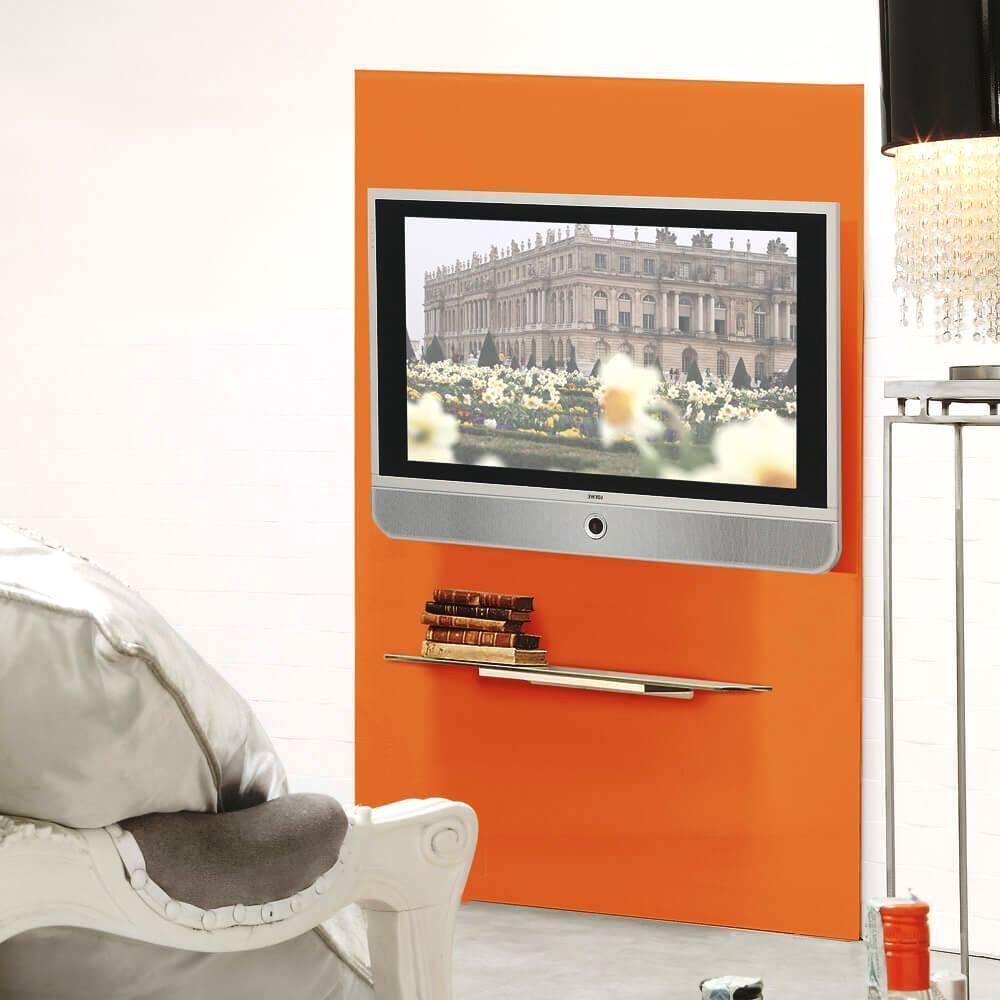 Pannello Porta Tv Fai Da Te.Foto Installare Un Porta Tv A Parete