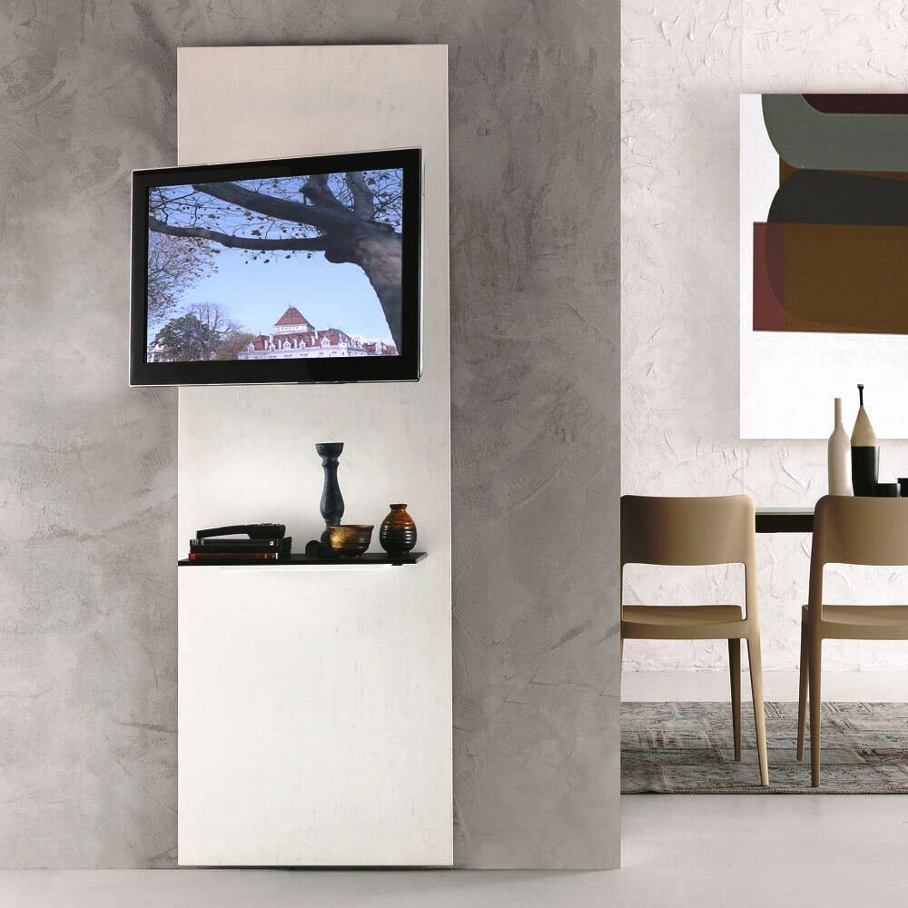 Pannello Porta Tv A Muro.Foto Installare Un Porta Tv A Parete