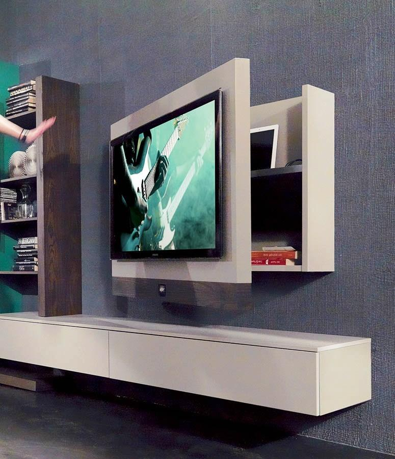 Porta Tv Da Muro.Foto Installare Un Porta Tv A Parete