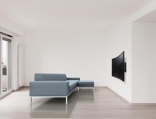 Staffe per televisore curvo, da Meliconi