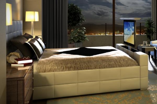 Letto con tv integrato, da Nardi Design