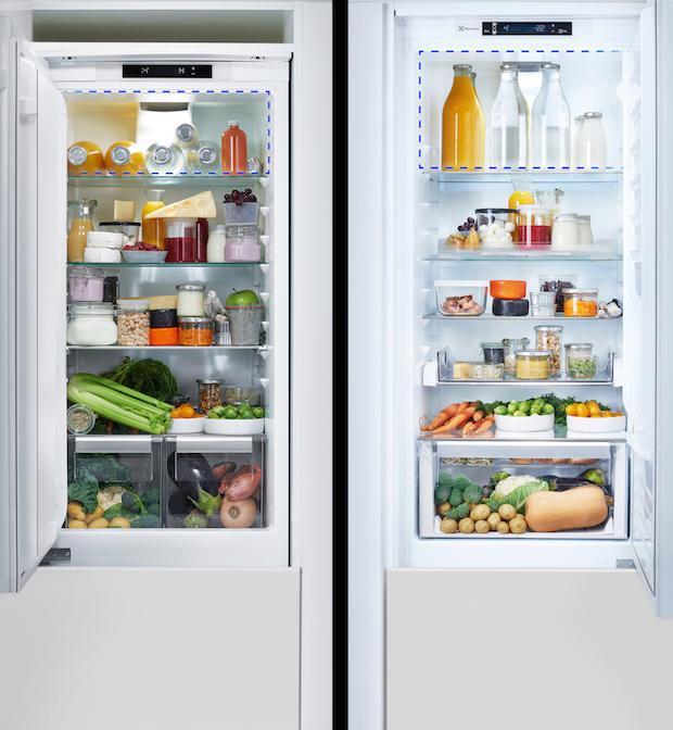 Frigocongelatori a confronto: più spazio con Multispace, da Electrolux