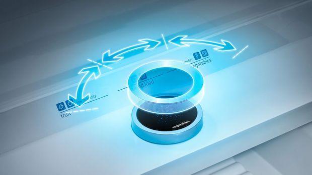 Manopola per regolare il grado di umidità, da Siemens