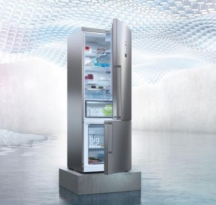 Frigocongelatori dotati di sensori smart, da Siemens