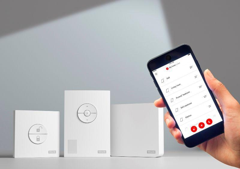 Kit per fnestre smart VELUX ACTIVE with NETATMO