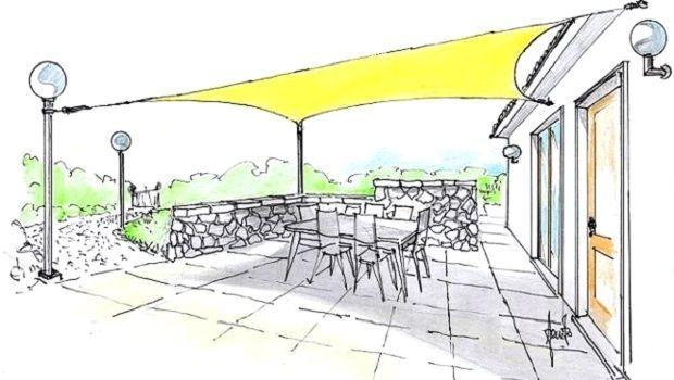 Idee e consigli per un fresco outdoor con le vele ombreggianti