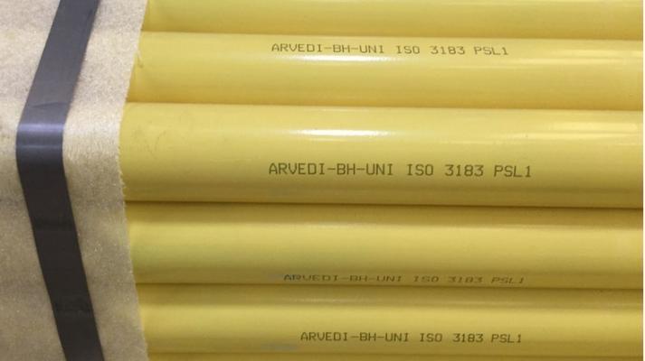 Tubi del gas in acciaio preverniciato Arvedi di Metal Condotte