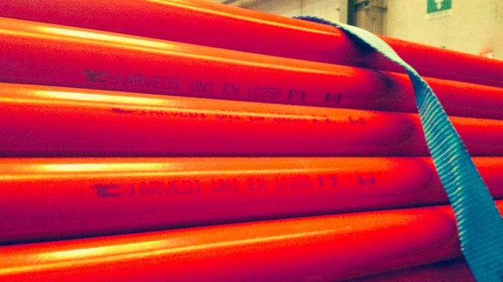 Tubi per impianti antincendio in acciaio preverniciato Arvedi di Metal Condotte