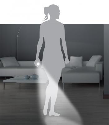 La torcia estraibile della lampada di emergenza di BTicino