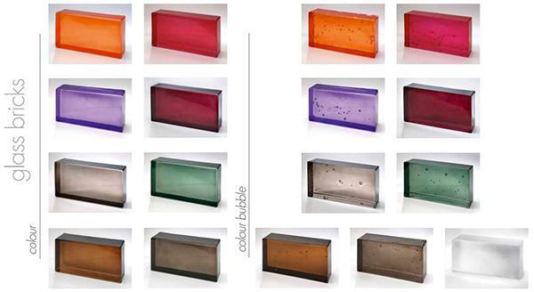 Mattoni di vetro Classic Collection di Poesia