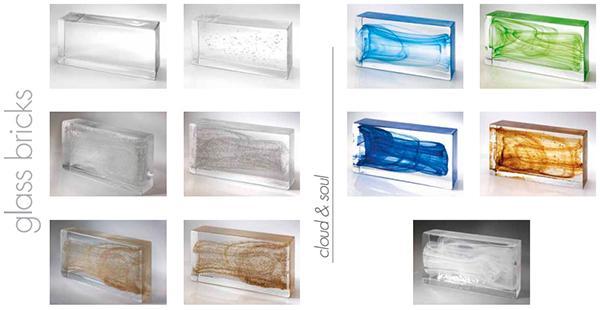 Mattoni di vetro Classic Collection by Poesia