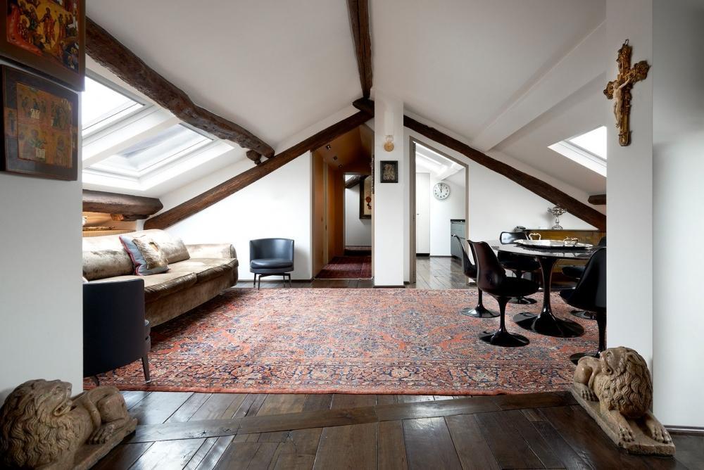 Sottotetto abitabile anche grazie alle finestre da tetto VELUX