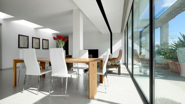 Attico con tetto piano come sfruttare l illuminazione naturale