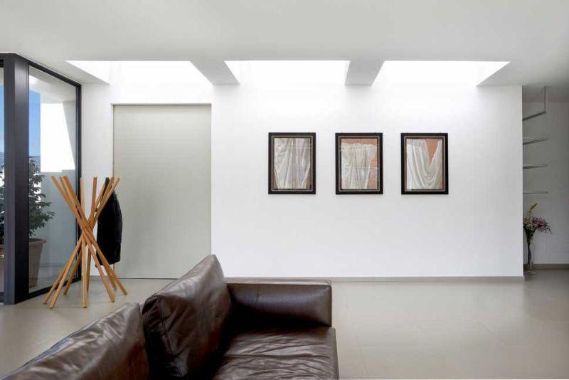 Attico con tetto piano come sfruttare l 39 illuminazione naturale for Velux finestre per tetti piani