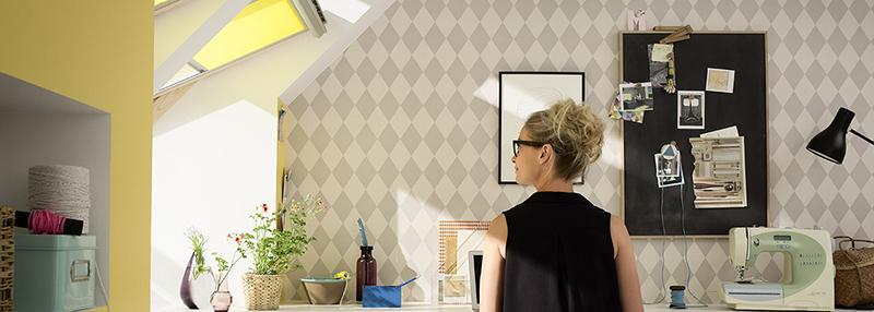 Finestra per tetto radiazione luminosa