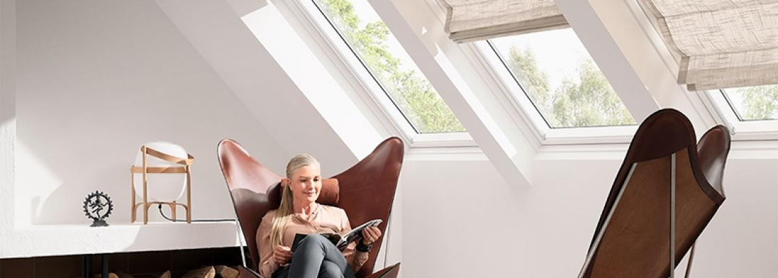 Tenda Velux finestra per tetto