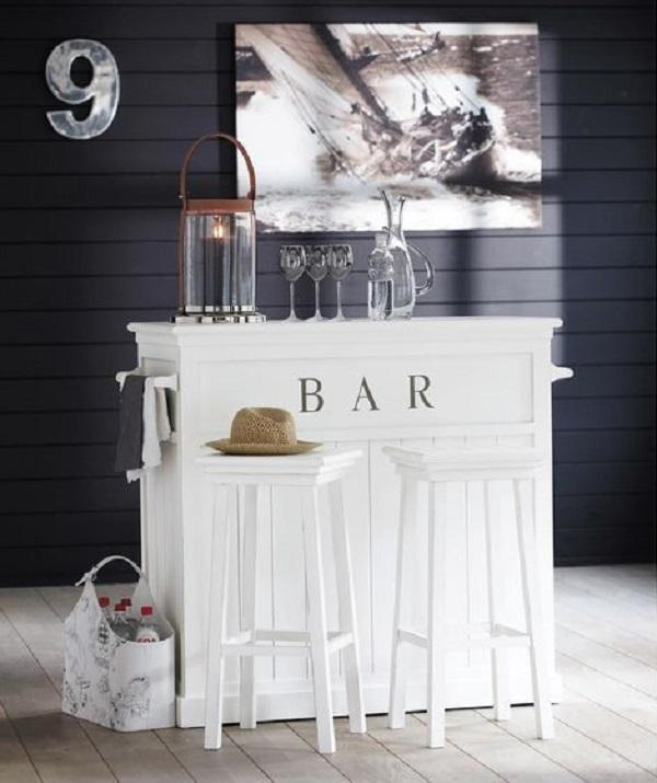 Bancone bar in legno, da Maisons du monde