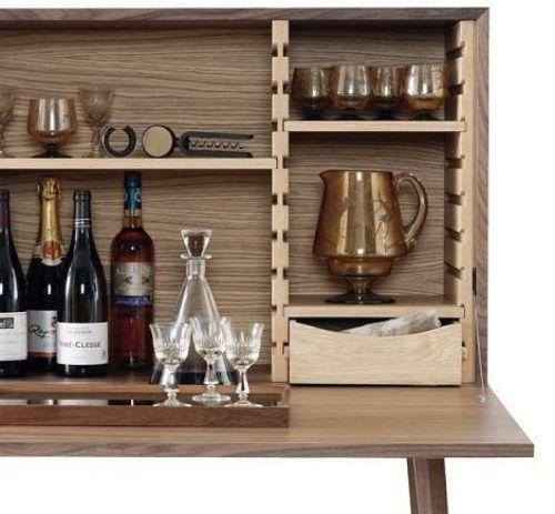 Wooden bar cabinet, from Wewood