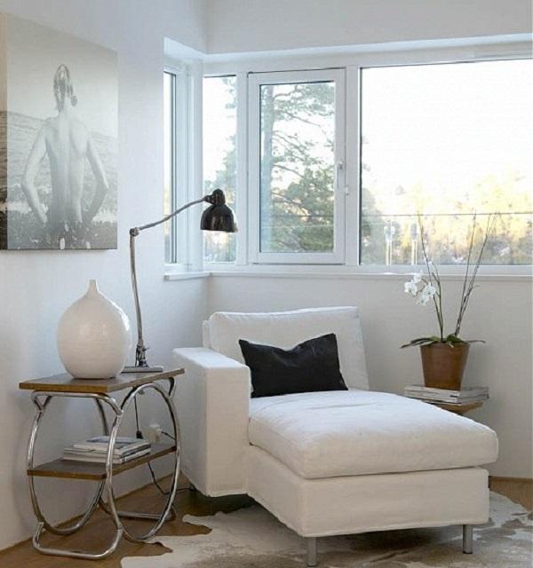 Personalizzare un angolo lettura con quadri o stampe (foto dal blog letiziattilidesign.com)